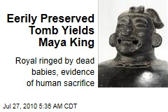 Eerily Preserved Tomb Yields Maya King