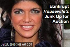 Bankrupt Joisey Housewife's Junk Up for Auction