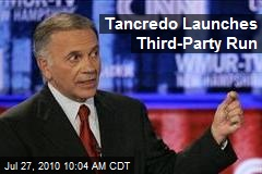 Tancredo Launches Third-Party Run