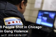 9 People Shot in Chicago