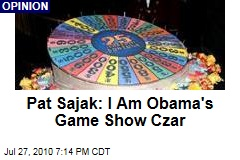 Pat Sajak: I Am Obama's Game Show Czar