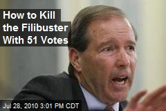 How to Kill the Filibuster With 51 Votes