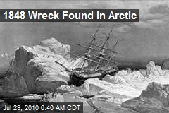 1848 Wreck Found in Arctic