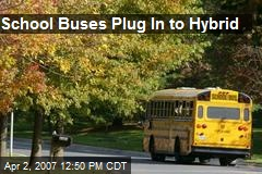 School Buses Plug In to Hybrid