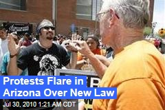 Arizona Erupts Over Immigration Law