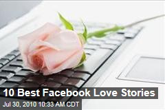 10 Best Facebook Love Stories