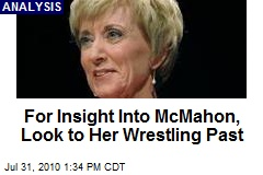For Insight Into McMahon, Look to Her Wrestling Past
