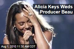 Alicia Keys Weds Producer Beau
