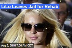 LiLo Leaves Jail for Rehab