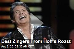 Best Zingers From Hoff's Roast