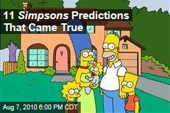 11 Simpsons Predictions That Came True