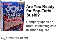 Pop-Tarts Opens Restaurant in Times Square
