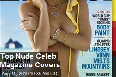 Top Nude Celeb Magazine Covers
