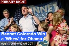 Colorado Win a 'Whew' for Obama
