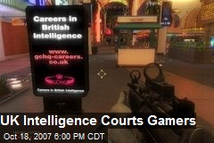 UK Intelligence Courts Gamers