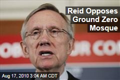 Reid Opposes Ground Zero Mosque