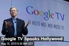 Google TV Spooks Hollywood