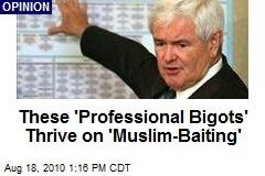 These 'Professional Bigots' Thrive on 'Muslim-Baiting'