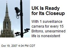 UK Is Ready for Its Closeup