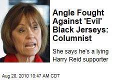 Angle Fought Against 'Evil' Black Jerseys: Columnist