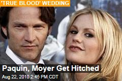 Paquin, Moyer Get Hitched