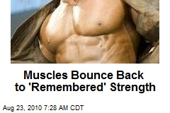 Muscles Bounce Back to 'Remembered' Strength
