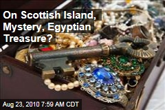 On Scottish Island, Mystery, Egyptian Treasure?