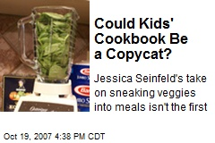 Could Kids' Cookbook Be a Copycat?