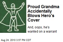 Proud Grandma Accidentally Blows Hero's Cover