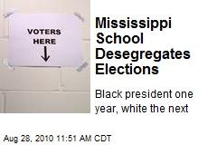 Mississippi School Desegregates Elections