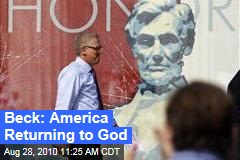 Beck: America Returning to God