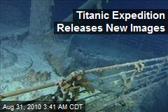 Titanic Expedition Releases New Images