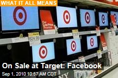 On Sale at Target: Facebook