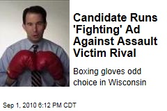 Candidate Runs 'Fighting' Ad Against Assault Victim Rival