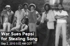 War Sues Pepsi for Stealing Song