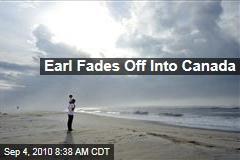 Earl Fades Off Into Canada