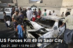 US Forces Kill 49 in Sadr City