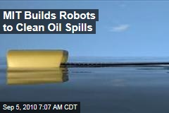 MIT Builds Robots to Clean Oil Spills