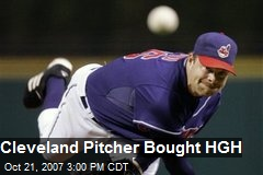 Cleveland Pitcher Bought HGH