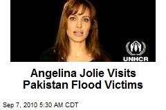 Angelina Jolie Visits Pakistan Flood Victims