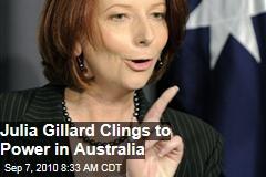 Independents Back Gillard as Aus PM