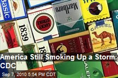America Still Smoking Up a Storm : CDC